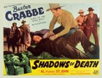 Shadows of Death 1945 DVD - Buster Crabbe